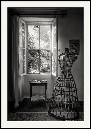 Morgenlicht im Wohnzimmer, Provence