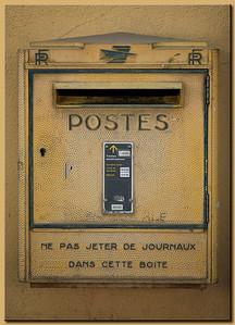 Briefkasten in der Provence